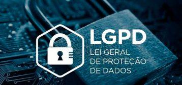 """Arte de um cadeado envolto por elementos tecnológicos para a pauta """"A Lei de Proteção de Dados (LGPD) também vale para os condomínios!"""" do Blog da Estasa"""