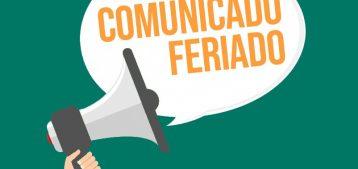 "Arte para o comunicado ""Carta Circular 577 : 2020 – Feriado do Comércio"" para o blog da Estasa"
